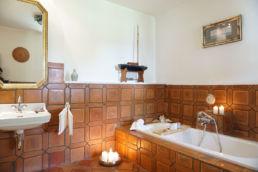 Home Staging Badezimmer Kerzen