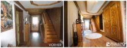 Flur Holz Home Staging