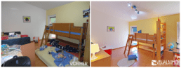 Home Staging Kinderzimmer aufbereitet
