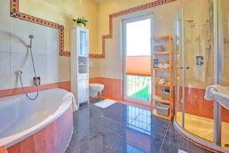 Badezimmer Home Staging aufbereitet