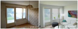 Visualisierung renovierungsbedürftig Wohnzimmer