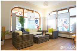 Reisebüro Loungebereich neu Einrichtungsberatung