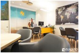Reisebüro Arbeitsplatz neu Einrichtungsberatung
