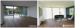 3D Home Staging Wohnzimmer
