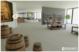 3D Home Staging Gourmet Laden Herren Whiskey