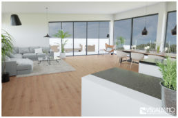 3D Home Staging Penthouse Terrasse