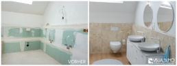 3D Home Staging Badezimmer Spiegel Waschbecken