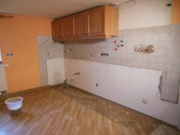 Küche Umbau Renovierung Fliesen