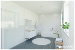 3D Home Staging Bad Badewanne