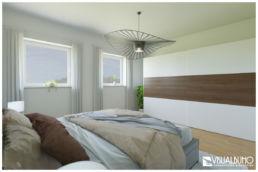 3D Home Staging Schlafzimmer Schrank
