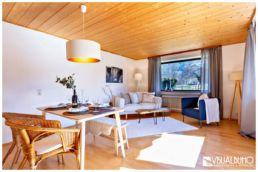 Home Staging Wohnzimmer Essbereich Rustikal Alpin