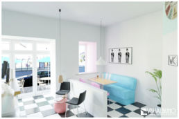 3D Home Staging - Ansicht Ausgang