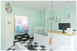 3D Home Staging - Ansicht Eistheke