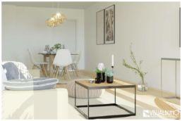 3D Home Staging Essbereich Skandinavisch