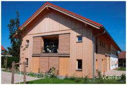 Holzhaus Tageslicht modern