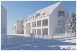 Architekturvisualisierung Weißmodell Entwurf