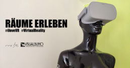 Mannequin mit VR Brille