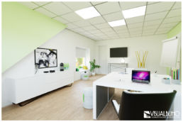 home office 3d home staging