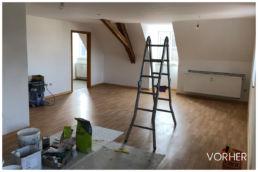 Renovierung Dachgeschoss 3D Home Staging