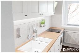 Küche Landhausstil Wohnung 3D Home Staging