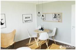 Essbereich skandinavisch 3D Home Staging
