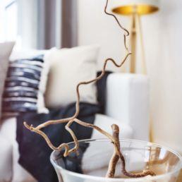 Home Staging Detailbild mit Vase