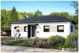 architekturvisualisierung rendering bungalow